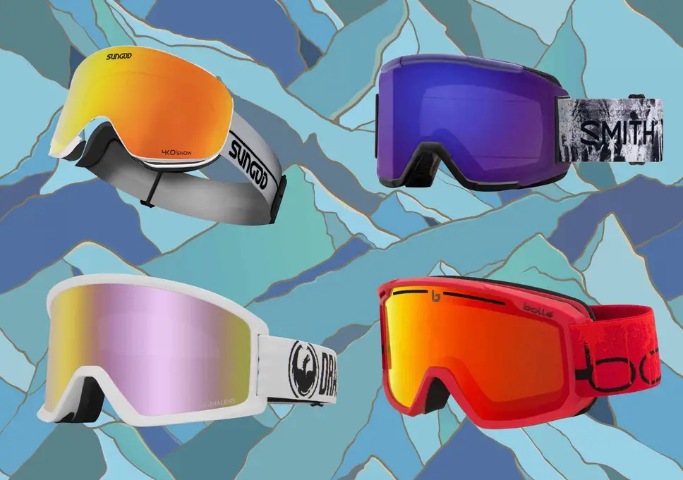 Ski Goggles: Capture the snow view with protected eyes