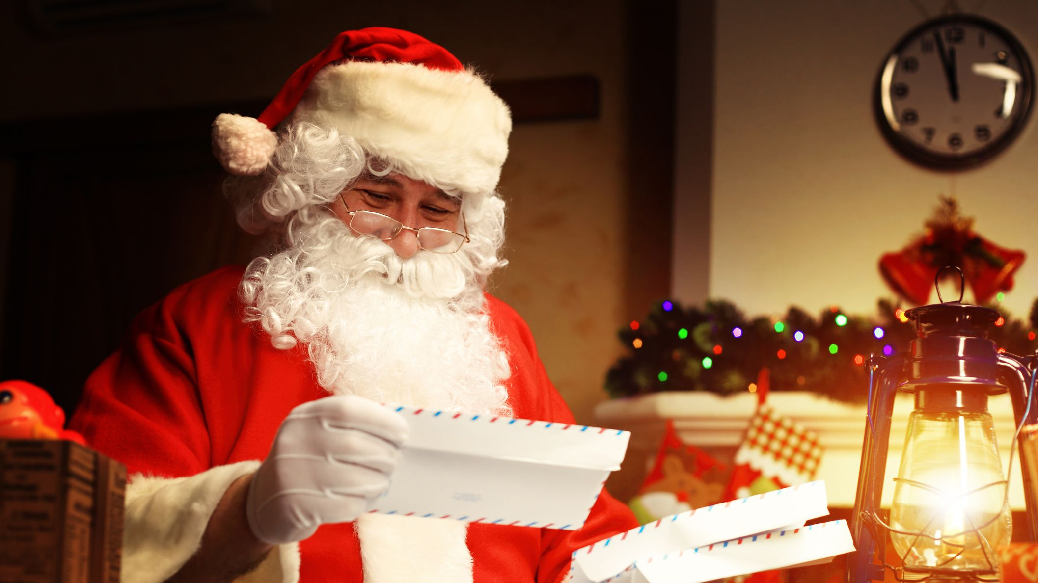 Write a Letter to Santa Claus for Fulfilling Our Wishes